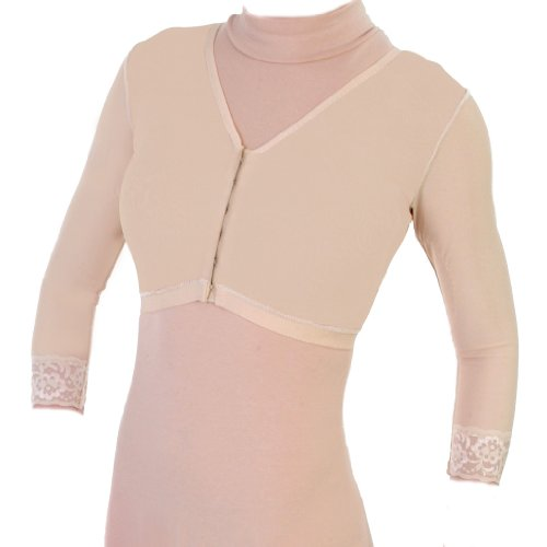 Contour Style 24B - Bra with Sleeves - Beige - 40 Contour Compression Garments