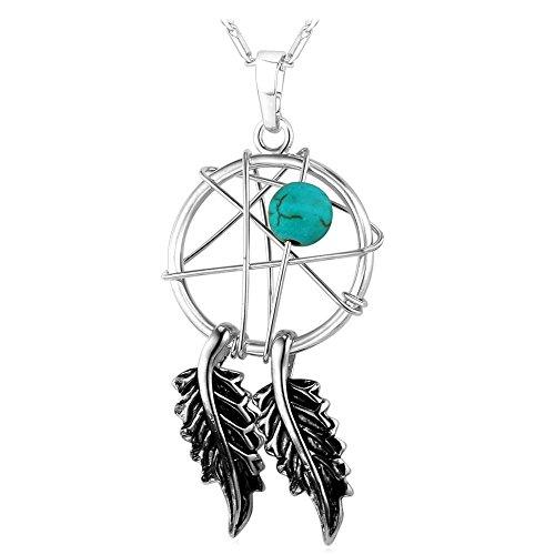 Catcher Necklace Jewelry American Dreamcatcher