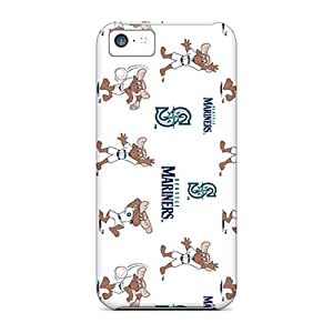 Perfect Hard Phone Covers For Iphone 5c (XmR19712HApO) Allow Personal Design Fashion Seattle Mariners Image