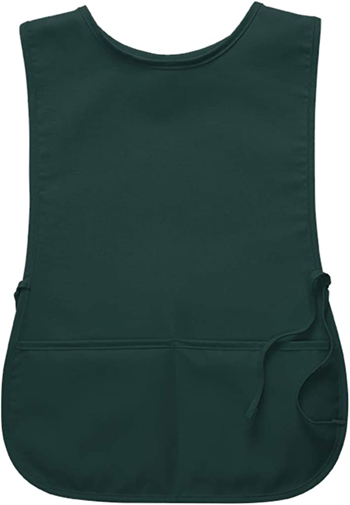 Style 400 DayStar Apparel 2-Pocket Unisex Cobbler Apron with Side Ties and Deep Pockets