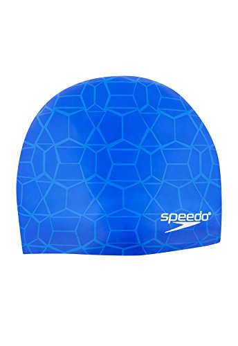 Speedo Speed It Up Silicone Swim Cap Royal Blue