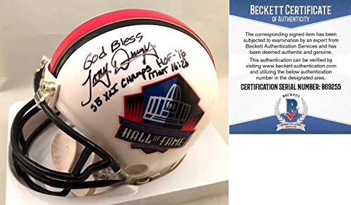 (Indianapolis Colts Tony Dungy Autographed Signed Mini Helmet HOF 16 SB Xbl Champs Signature - Beckett Authentic)