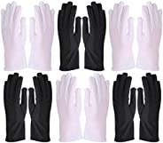 PRETYZOOM 6 Pairs Women UV Protection Sunblock Gloves Dance Party Prom Gloves for Summer Outdoor Activities