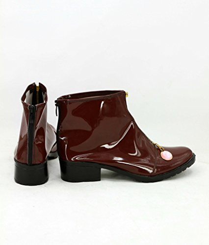 JOJOS BIZARRE ADVENTURE Giorno Giovanna Cosplay Shoes Brown Boots Custom Made XUVivf5fXp