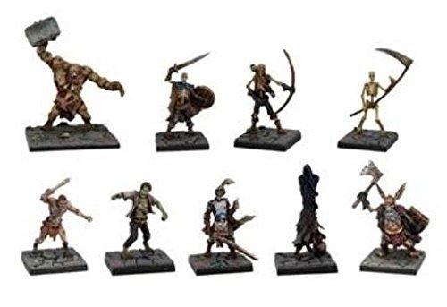 Dungeon Saga: Evil Dead Miniatures Set by Mantic Games