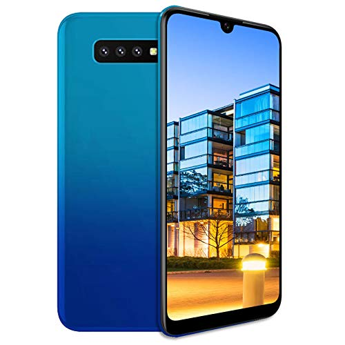 Unlocked Cell Phone, s10pro 3G (WCDMA:850/2100) Android Smartphone, 6.26inch IPS Full-Screen, 3G Dual SIM,2GB RAM 16GB ROM, Android 7.0 MTK6580 Quad Core,3800mAh(Apply to T-Mobile) Blue (Best Smartphone For 150 Dollars)