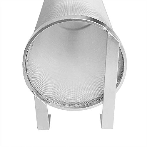 Hop Filter Spider Strainer Stainless steel Beer Mesh Strainer for Home brew Kegging equipment 300 Micron (Filter silver 1) by JoyBrew (Image #8)