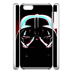 iphone6 Plus 5.5 3D Cell Phone Case White Star Wars Plastic Durable Cover Cases swxc5071926