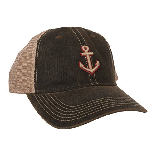 Legacy Seattle Anchor Trucker Hat (Brown)