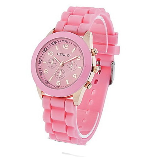 silicone jelly watch for men - 7