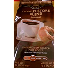 Beaumont Donut Store Blend Ground Coffee 100% Premium Arabica Pure Coffee 12 oz (Pack of 2)