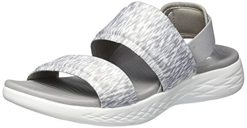 On go The 600 Mujer Skechers15309 Gris para TRwqw