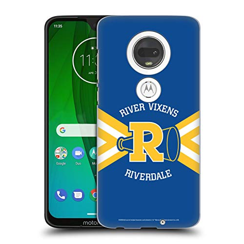 Official Riverdale River Vixens Uniform Graphic Art Hard Back Case Compatible for Motorola Moto G7 / G7 Plus