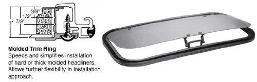 C.R. LAURENCE AP1735B6H CRL/SFC 17 x 35 AutoPort Sunroof Molded Trim Ring - Solar High Performance (Crl Sunroof)