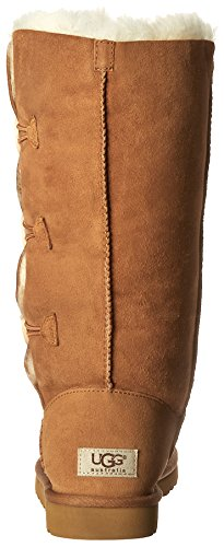 Bailey Button Marrón Chestnut planas Triplet Ugg Botas zCq8B