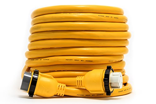 Camco-55623-50-PowerGrip-Marine-Extension-Cord-with-50M50F-Locking-Adapters