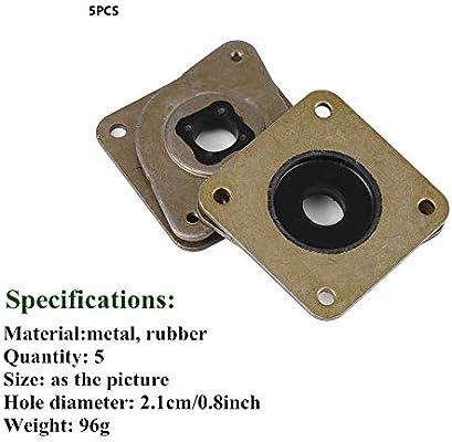 5pack) amortiguador de vibración del motor de pasos de acero y del ...