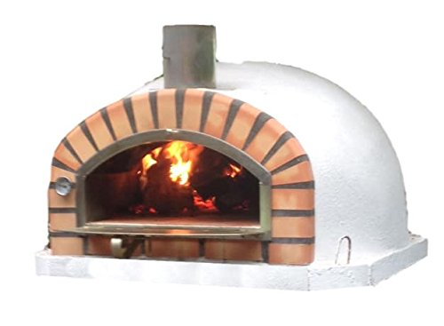 Authentic Pizza Ovens Traditional Brick Pizzaioli Wood Fire Oven (Outdoor Wood Burning Pizza Oven)