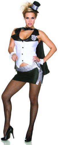 Delicious Abracadabra Costume, Black/White, Small ()
