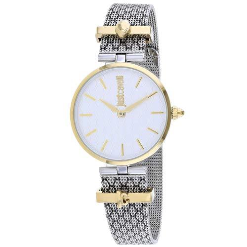 Watch Just Cavalli Women's Trama Watch Quartz Mineral Crystal JC1L060M0085 JC1L060M0085