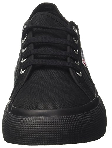 Superga Sneaker Donna Black Full Cotw 2287 qwxnwY