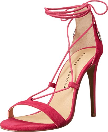 Chinese Laundry Jambi Womens Sandal Shocking Pink Kid Suede 1qy2mkzv2