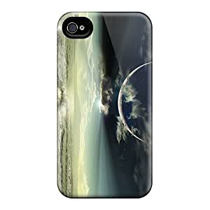 Hot ViC6677Weyn Sea Tpu Case Cover Compatible With Iphone 4/4s Kimberly Kurzendoerfer