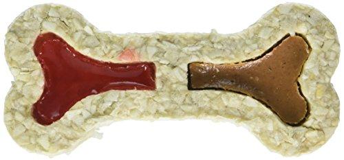 Red Barn Filled Rawhide Bone - Peanut Butter & Jelly