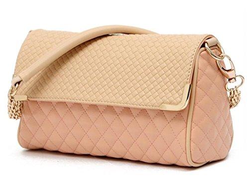 Quilted Plaid Handbag - 7