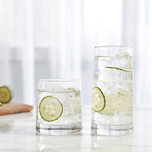 Libbey Cabos 16Piece Tumbler and Rocks Glass Set