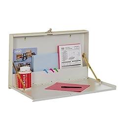 Edsal WDMB20047 16 Gauge Steel Service Writer Wall Desk, 27\