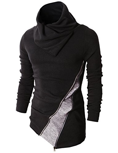 H2H Fashion Turtleneck Pullover Sweater