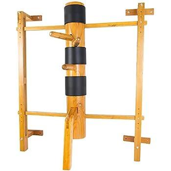 Amazon Com Wing Chun Wooden Dummy Mook Yan Jong