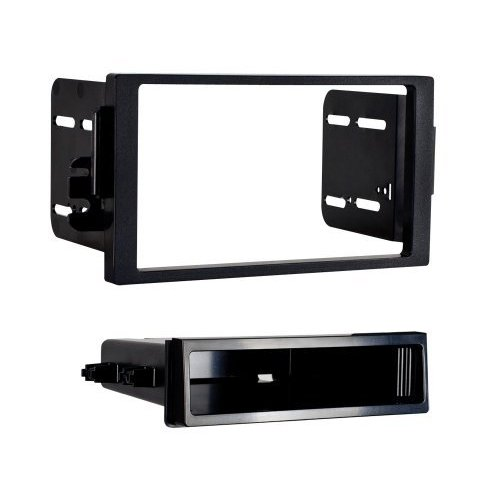 METRA 99-3108 / SINGLE AND DOUBLE DIN DASH KIT 2000-2005 ALL SATURN MODELS