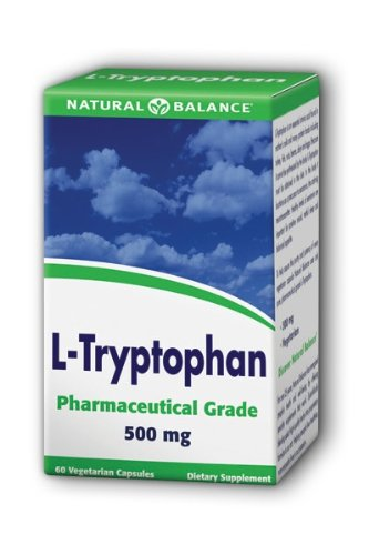 Natural Balance L-tryptophane 500 mg, 60-Count