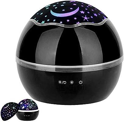 ZZYYZZ Star Night Light Projector 360 Grados de rotación Proyector ...