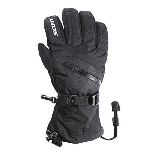 Scott Mens Traverse Full Finger Gloves - 240047 (Black - S)