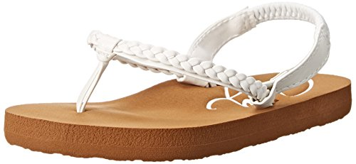 Roxy Baby Girl - Roxy TW Cabo Slingback Sandal (Infant/Toddler), White, 5 M US Toddler
