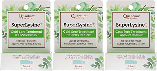 - Super Lysine Plus Cold Sore Ointment-7g tube (.25x3)
