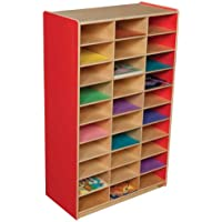 Healthy Kids Colors WD33300R Strawberry Red Mailbox Center