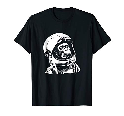 Vintage Space Travel Astronaut Monkey -