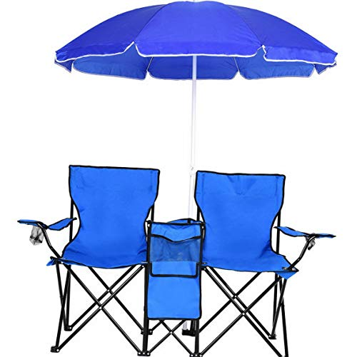 Best Kaputar Portable Folding Picnic Double Chair W