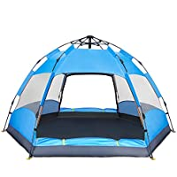 BATTOP 3-4 Person Tent [Double-Uses] Instant Pop Up...
