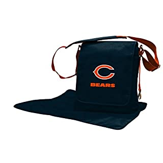 Lil Fan Diaper Messenger Bag, NFL Chicago Bears