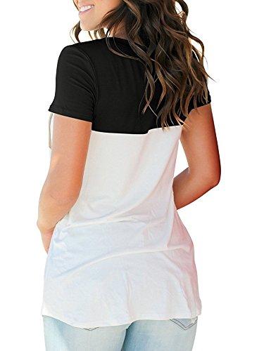 Iclosam Iclosam Para Camisas Para Black Mujer Camisas Mujer Iclosam Black Camisas xwqXg4Y