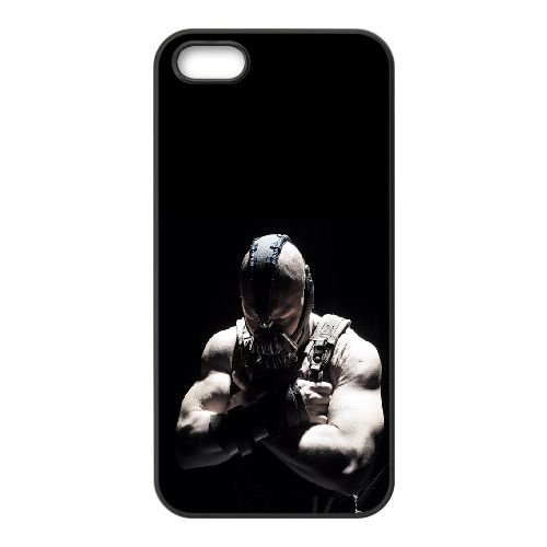 Bane The Dark Knight Rises1 coque iPhone 5 5S cellulaire cas coque de téléphone cas téléphone cellulaire noir couvercle EOKXLLNCD21948
