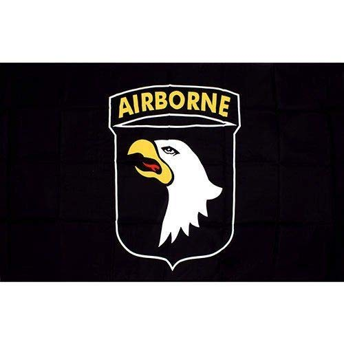 Ramsons Imports 101st Airborne Screaming Eagles Double Sided Nylon Embroidered 3x5 Foot Flag