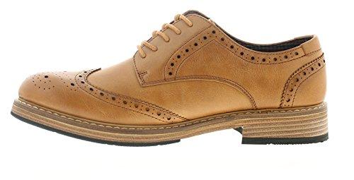 12 6 Mens Triumph Formal UK Taglie Ben Shoes Dark Sherman Oz84Rx8pqw