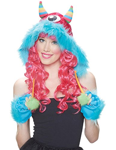 [Morris Costumes MR156182 Kit Hood Monster Rainbow] (Monsters Inc Costumes)