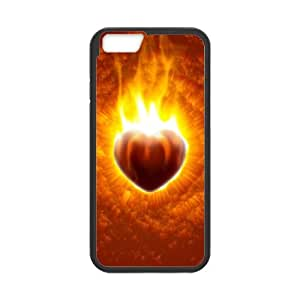 Beast On Fire Beast On Fire iPhone 6 Plus 5.5 Inch Cell Phone Case Black 82You496060